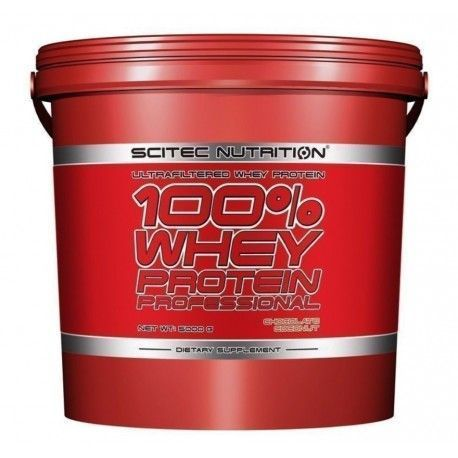 Whey 100% Protein Professional 5000gr Scitec Nutrition