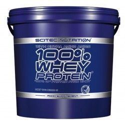 Whey 100% Protein 5000 gr Scitec Nutrition