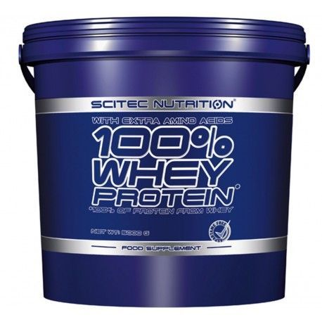 Whey Protein 100%  5000g Scitec Nutrition