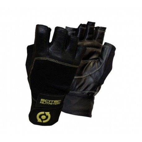 Guantes Yellow Leather Style Scitec Nutrition