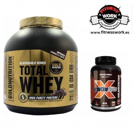 Total Whey + Creatina Goldnutrition