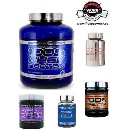 Pack Anabolico Scitec Nutrition